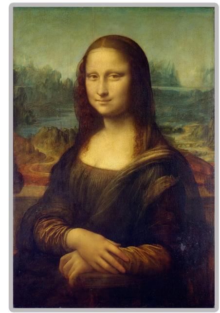 """Diamond Painting """"40 x 50"""" Monalisa"""