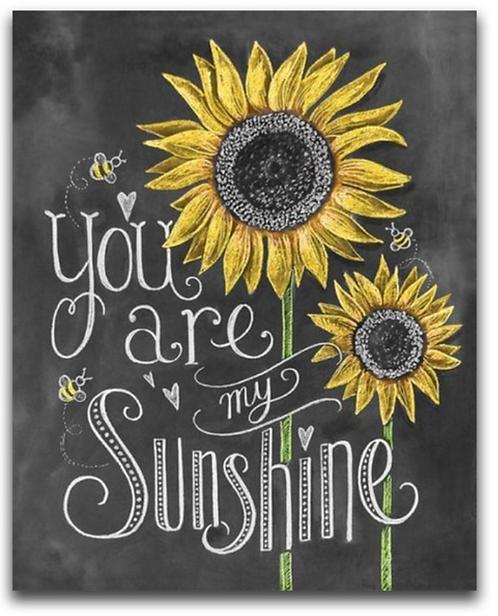 "Diamond Painting ""Sunflower sunshine "" 20 x 25 cm"