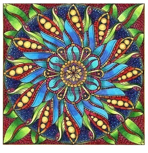 "Diamond Painting ""Mandala take 1"" 30 x 30 cm"