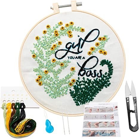 Embroidery Kit Funky