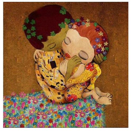 "Diamond Painting ""Klimt young"" 40 x 40 cm"