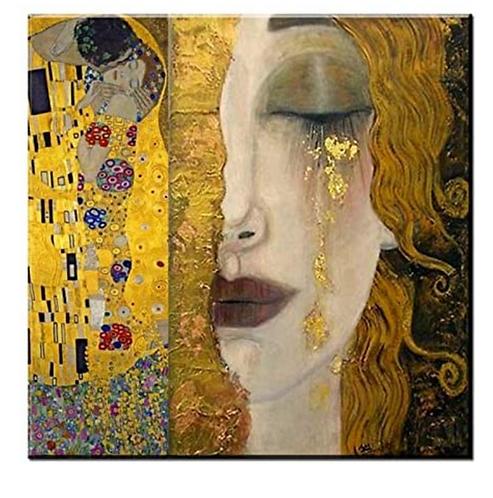 "Diamond Painting ""Hybrid Klimpt"" 30 x 30 cm"