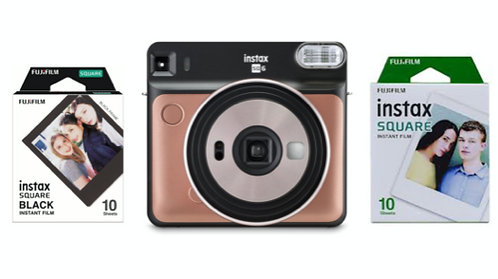 Fujifilm SQ6 instant moment kit- incluye dos rollos de 10