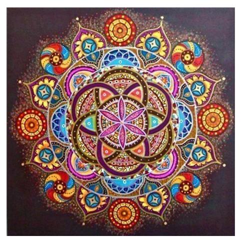 "Diamond Painting ""Mandala take 2"" 30 x 30 cm"