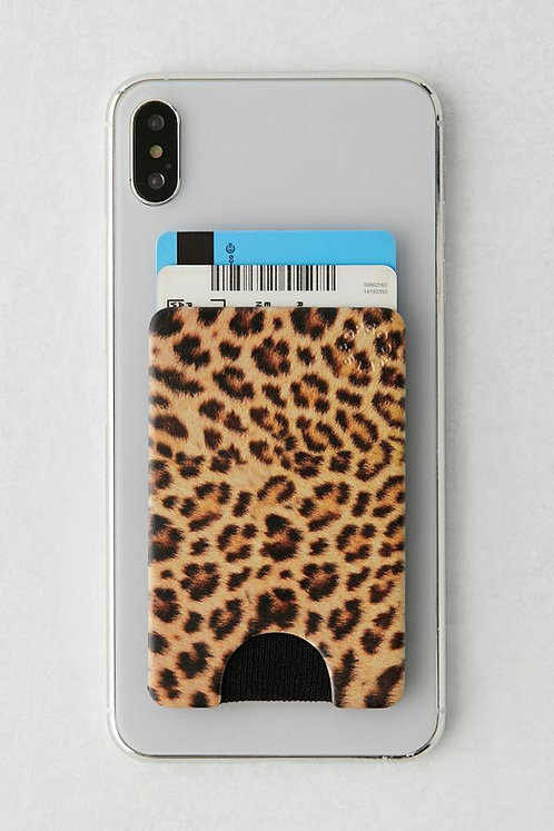 POp Wallet Cheetah Chic