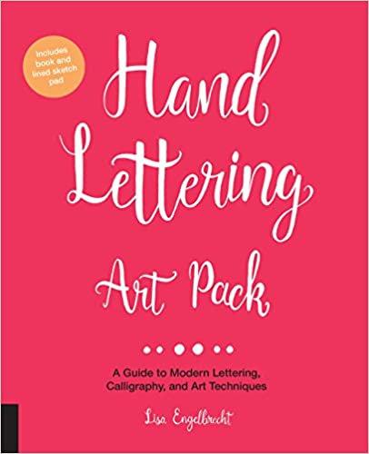 Art Lettering Pack: una guía para letras modernas, caligrafía y té