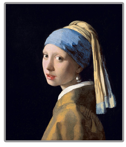 "Diamond Painting ""30x40"" Girl with the Pearl Earring"