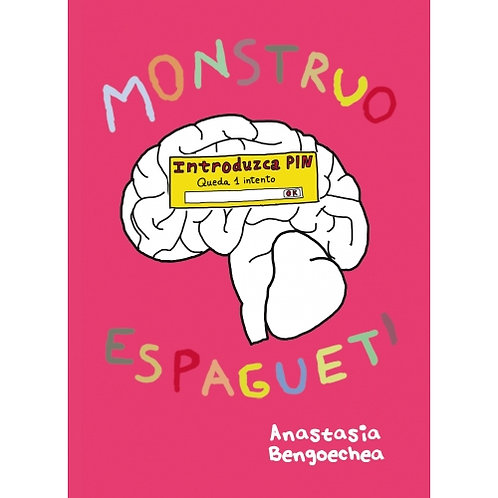 Libro Monstruo Espagueti