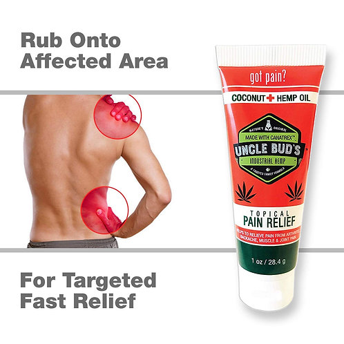 Uncle buds topical muscle rub