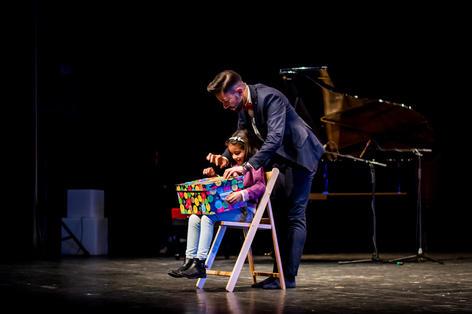 Mago en el Teatro López de Ayala
