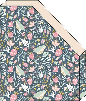 A5 מעמד חוברות פרחים