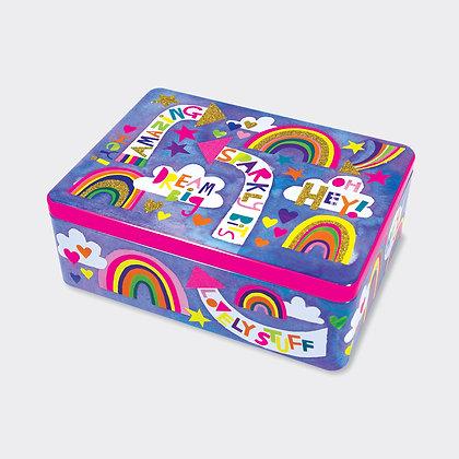 Dream Big - קופסת פח מלבנית