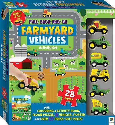 חוברת פעילות - רכבים בחווה