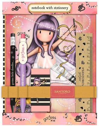 סט מחברת וכלי כתיבה - Little Dancer
