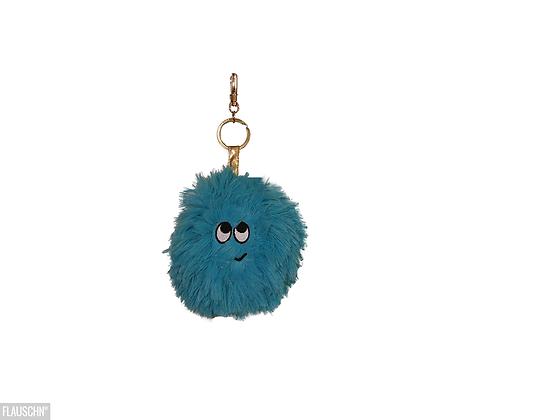 Bag פוף מחזיק מפתחות בצבע תכלת