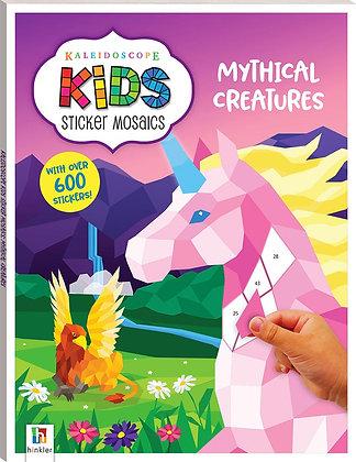 ערכת יצירת מוזאיקה ממדבקות לילדים - דמויות מהאגדות