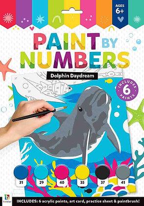 צביעה לפי מספרים - חלום של דולפין