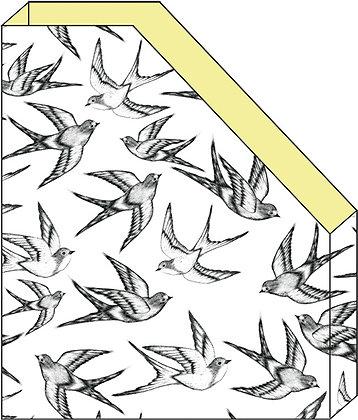 A5 מעמד חוברות ציפורים