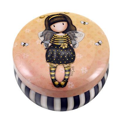 BeeLoved - קופסת פח עגולה