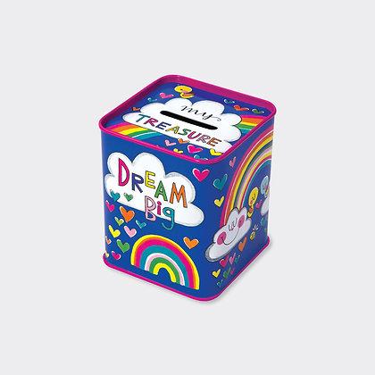 Dream Big - קופה עם מטבעות שוקולד