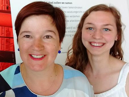Interview met Astrid Faelens en Tessa Bruneel