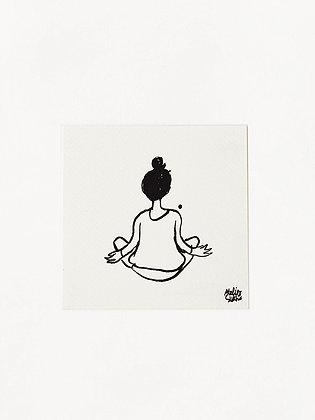 Atelier Sukha | kaart Inner peace