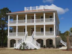 Photo of Three-Story Brick House