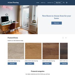 E-Commerce Design: A-Line Flooring