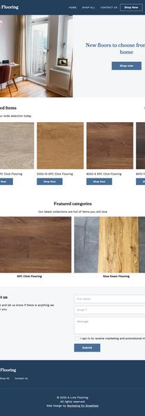 Client: A-Line Flooring