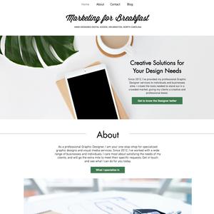 Web Design: Marketing for Breakfast