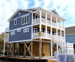 Photo of Gray-Blue Beach Cottage