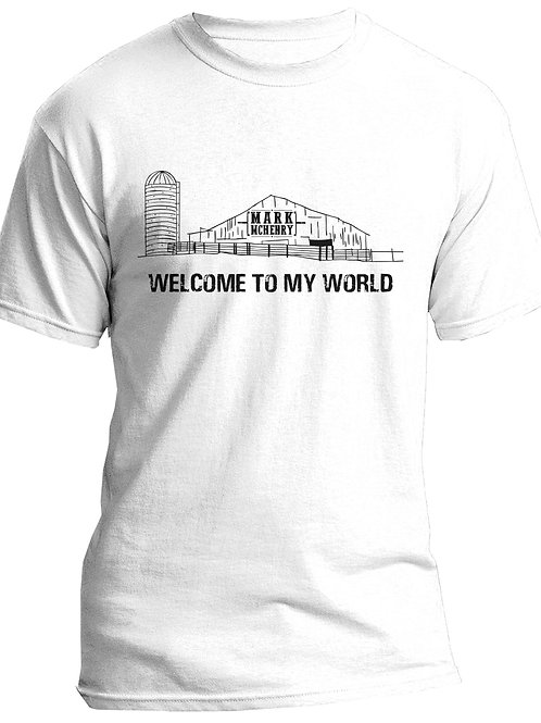LARGE Welcome To My World T-Shirt