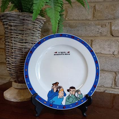 Assiette Tintin - A116