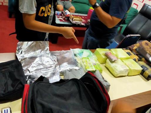 Penyelundupan Narkotika Senilai Rp 12,4 M Asal Malaysia Digagalkan di Batam