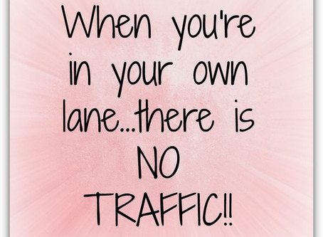 """Are YOU """"Staying in YOUR Lane""""?"""