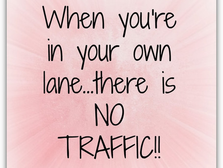 "Are YOU ""Staying in YOUR Lane""?"