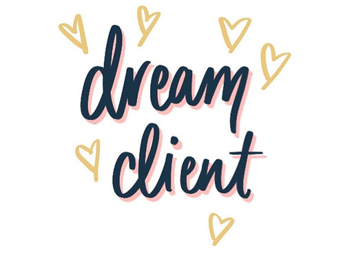 Your Dream Client Worksheet for HER Business