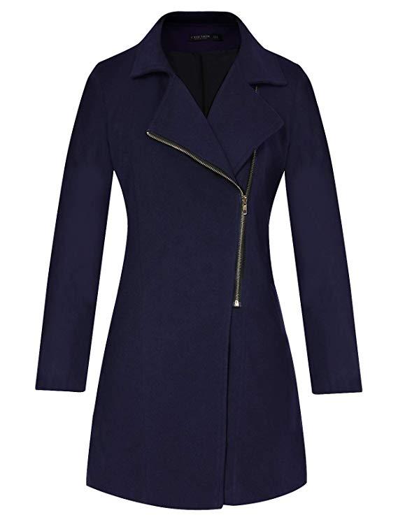 Women's Fashion Long Sleeve Coat