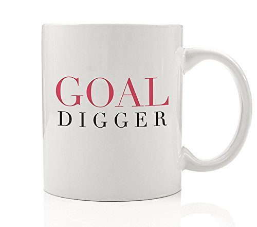 Goal Digger Coffee Mug Gift Idea