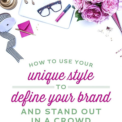 Defining the Brand in You Worksheet