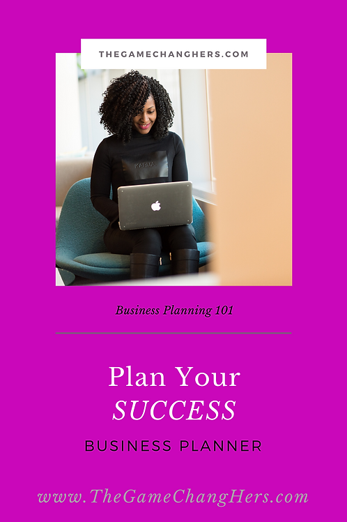 copy of Plan Your Success Business Planner