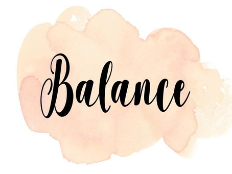 """The BEAUTY in BALANCE!"""