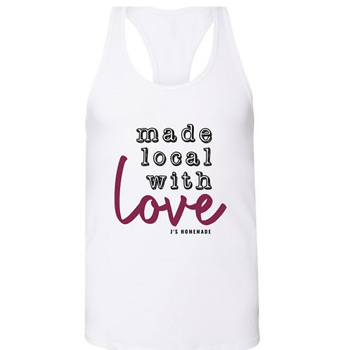 """Made Local with Love"" Women's Tank"