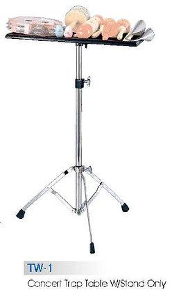 TW-1 стол для ручной перкуссии на стойке