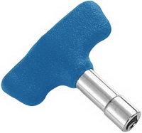 DA-155BL ключ для настройки с резиновым барашком (синий)