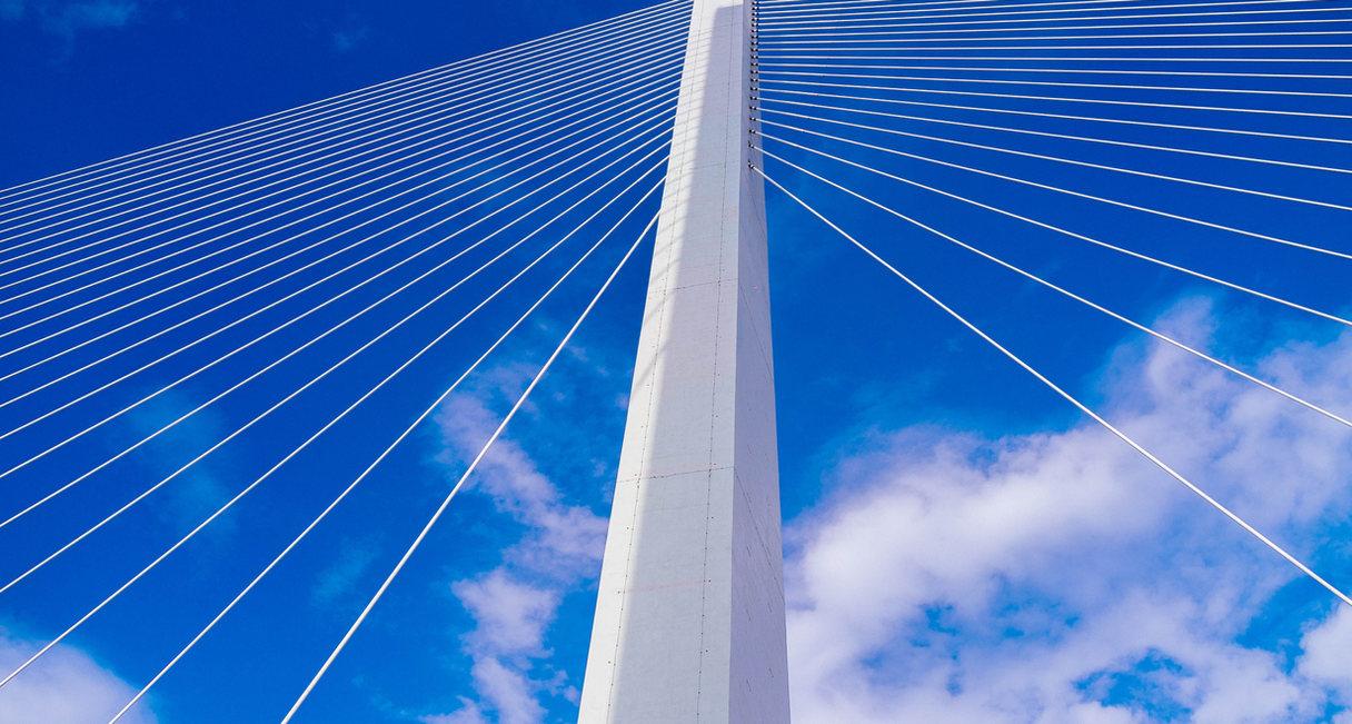 Ponte strallato Torre