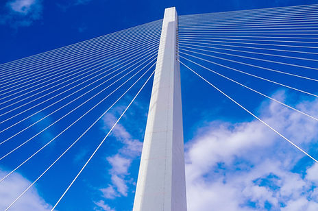 Cable-Stayed Bridge Tower