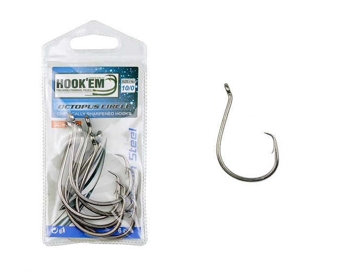 Octopus Circle Hook - Prepacked