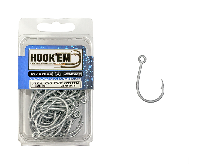 2X All Inline Hook - Bulk Pack
