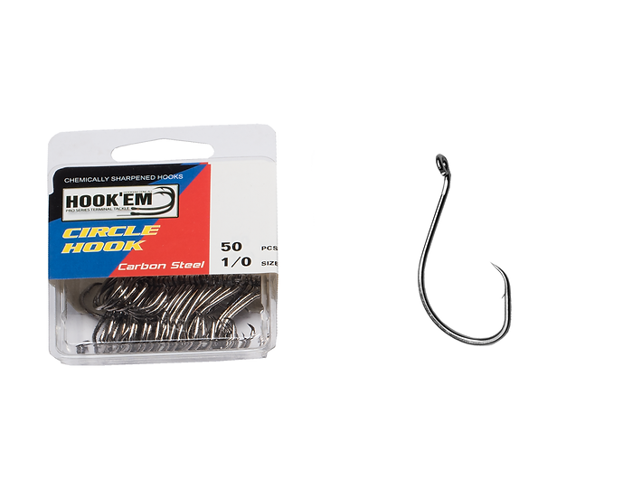 Octopus Circle Hook - Blister Pack
